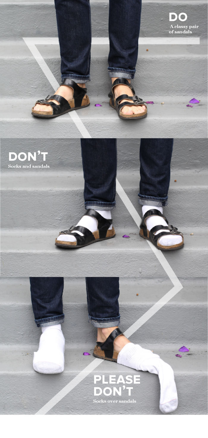 Fashion Do S: The Do's, The Don'ts, And The Oh God, Please Don'ts Of Men