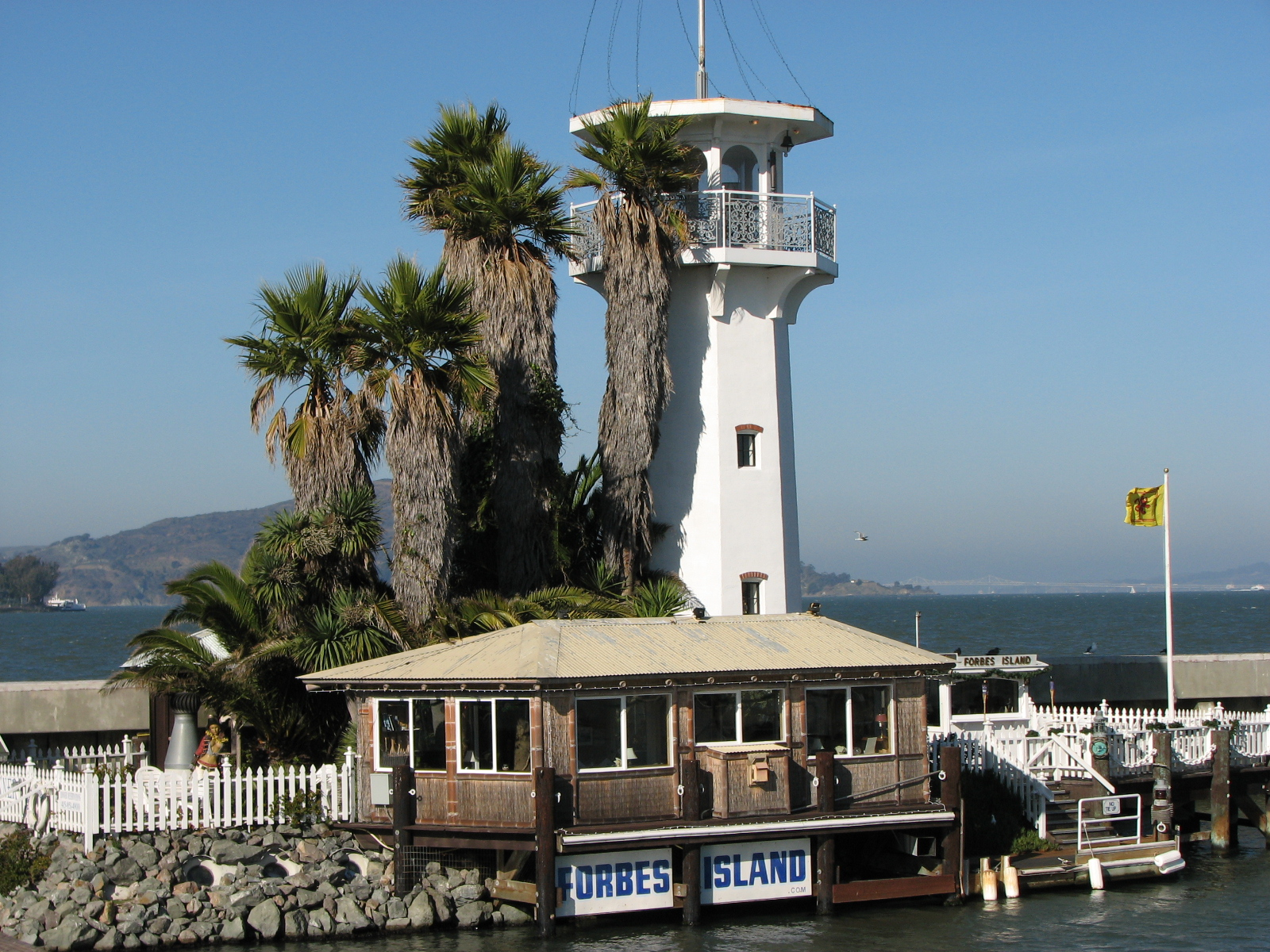 Forbes Island Restaurant Reservations