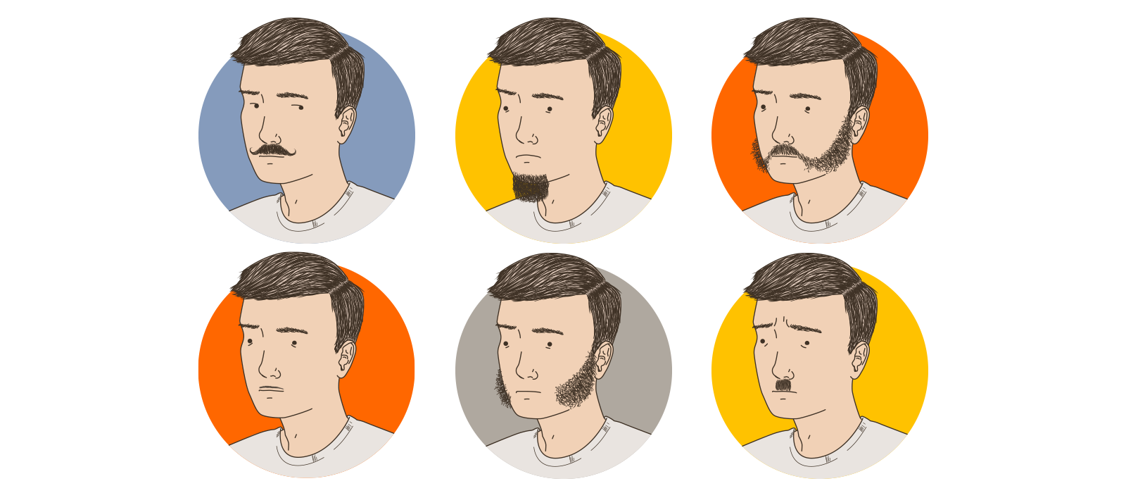Mens Facial Hair Options Ranked From Worst To Best